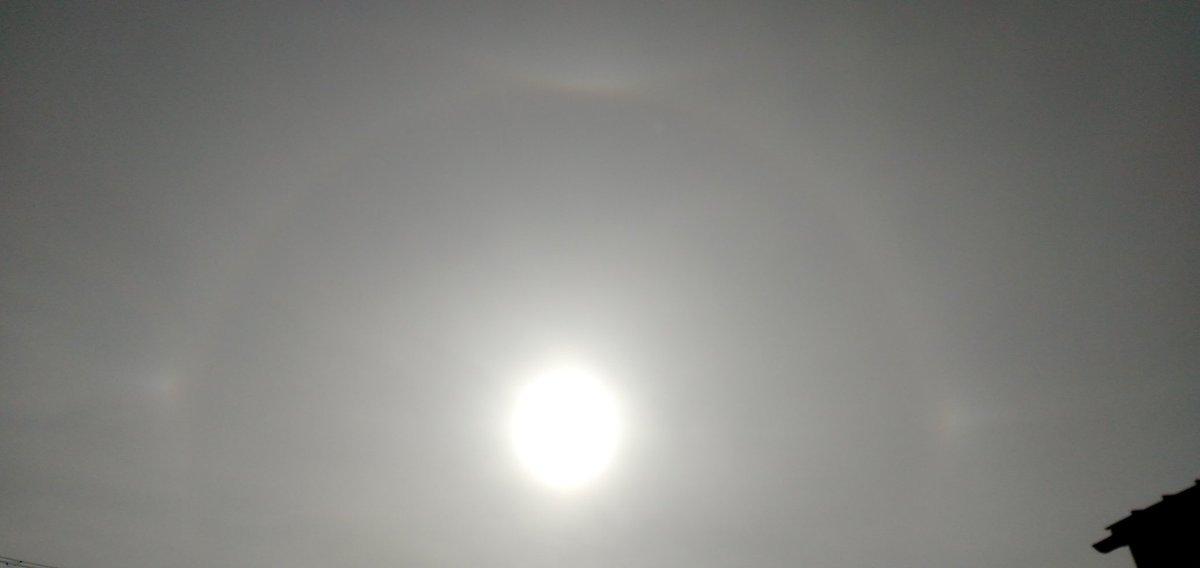 いやすごい… #halo #sun #akita https://t.co/Gz43qTyKex