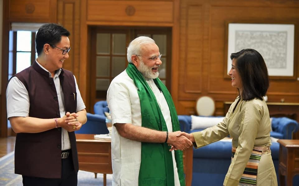 Congratulations to @AnshuJamsenpa (mountaineer, #ArunachalPradesh) for being awarded Padma Shri Award 2021 in recognition of her service in the field of #sports.