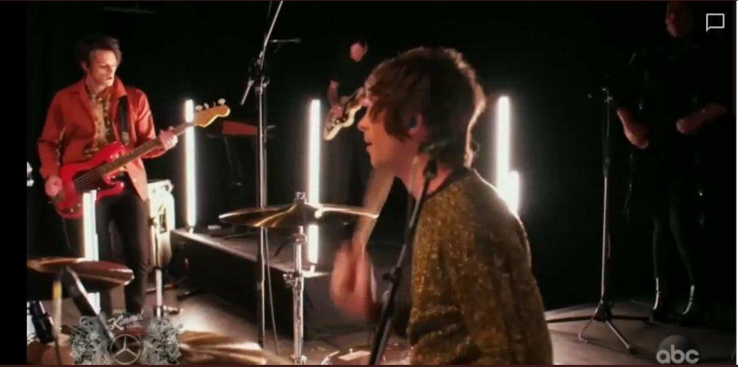 yes, i stan that band with the long name♡  #IDKHOWONJIMMYKIMMEL