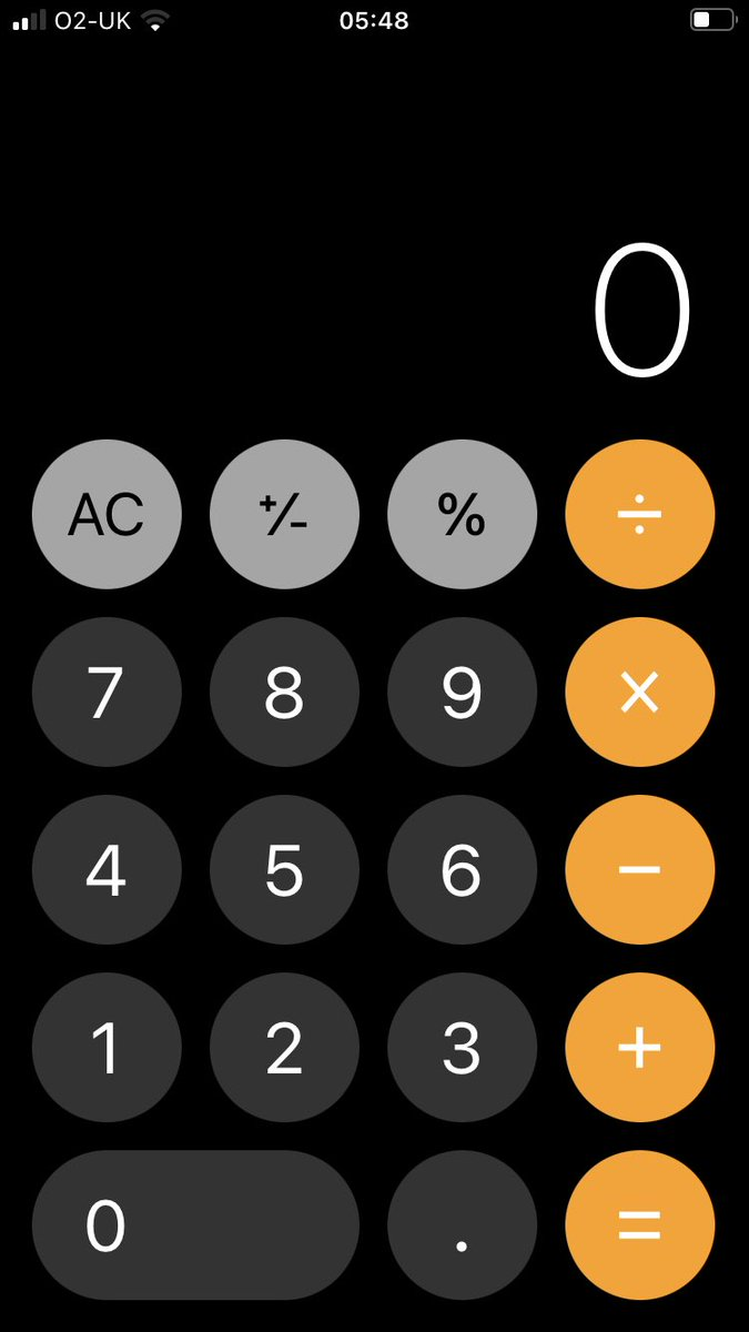 How to turn your iPhone 📲 Calculator into a Scientific Calculator.  To access the #Scientific Calculator, simply rotate your iPhone to landscape mode #BeInspired   #FridayFeeling