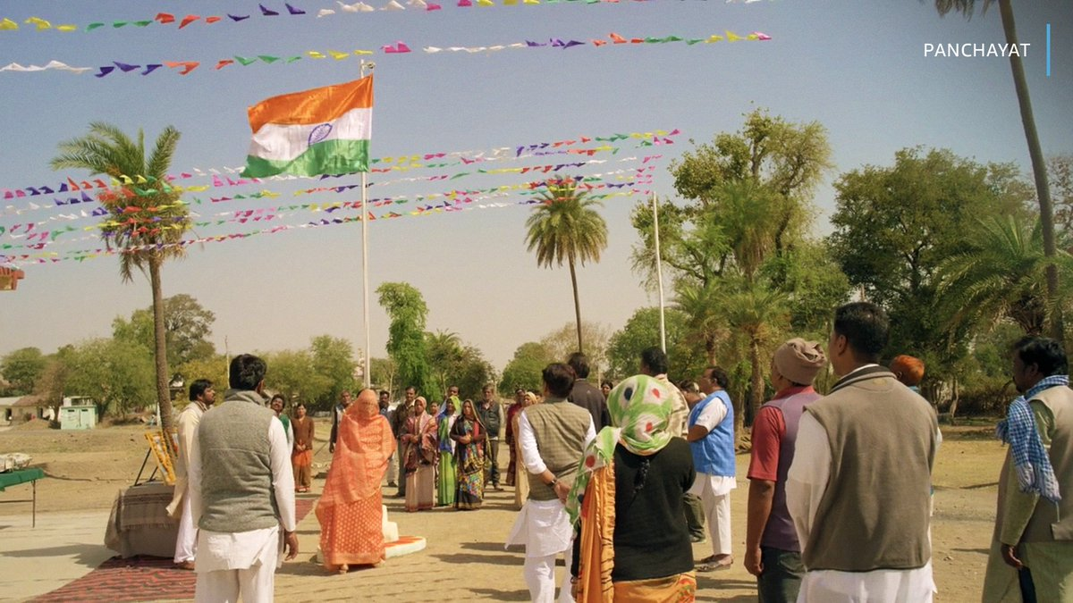 Thinking of this scene from Panchayat today ❤️    #HappyRepublicDay