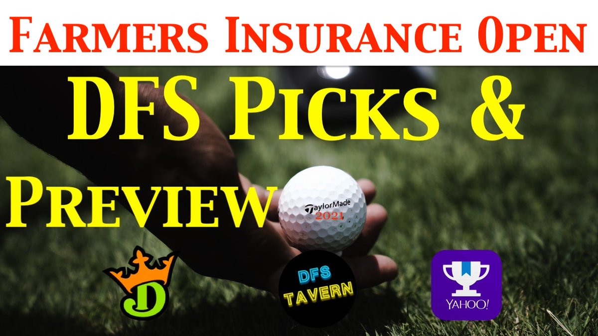 #FarmersInsuranceOpen Pod is Live  San Diego Weather? Thick Rough? 5 players I like | could be chalk  YouTube   Apple- Dfs Tavern Spotify-  Google-  Anchor-