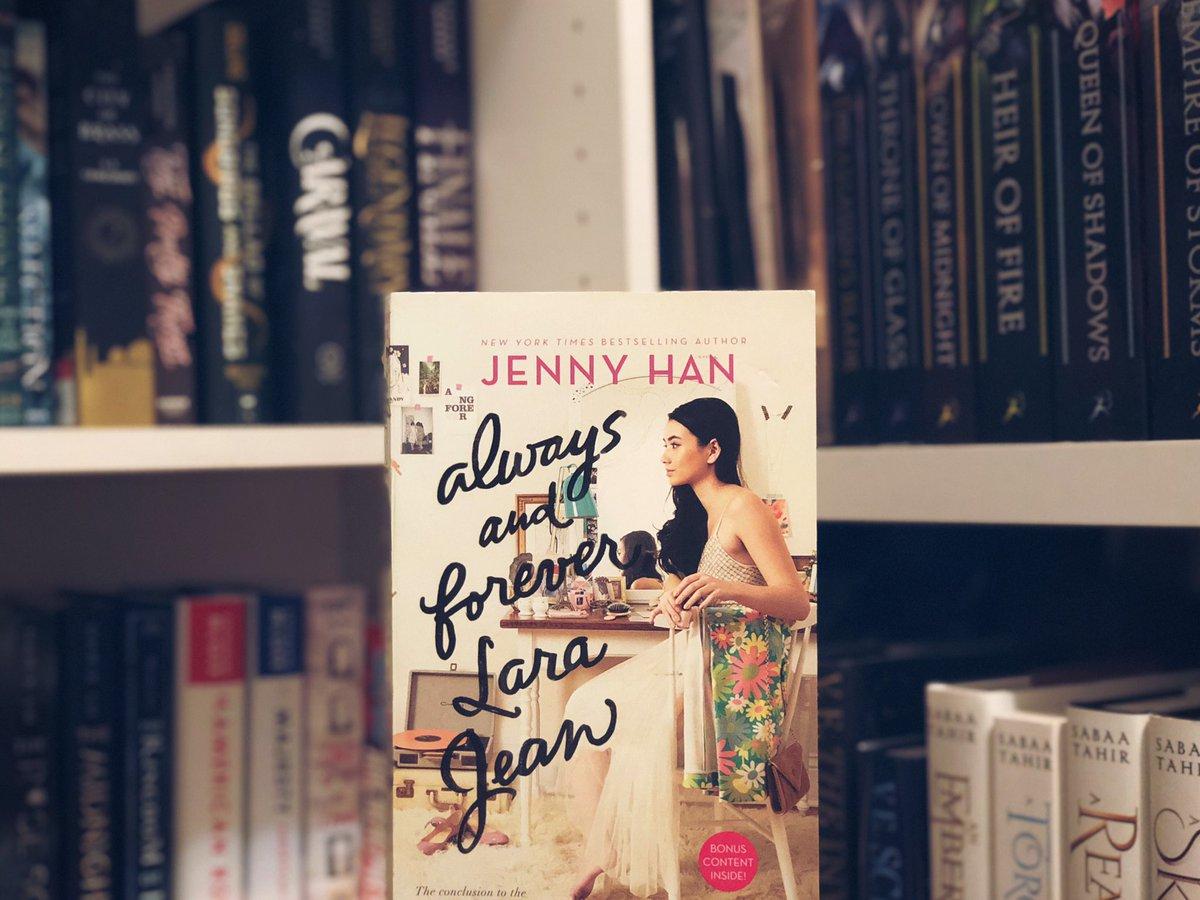 cr: Always and Forever, Lara Jean by Jenny Han https://t.co/DNFz9qzxkO