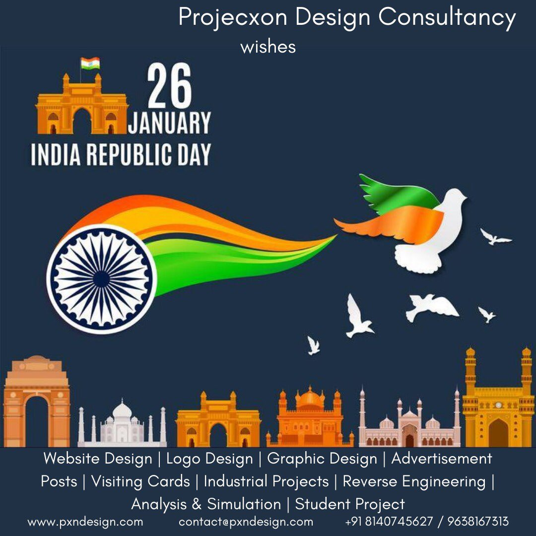 #RepublicDay2021  #marketing #advertising #makeinindia #vocal #localbusiness #localforvocal #startup #graphicdesign #webdesign #mechanic #mechanical #engineer #analysis #Simulation #advertisement #logodesign #logo #visitingcard #festive #festiveseason #India #Rajkot