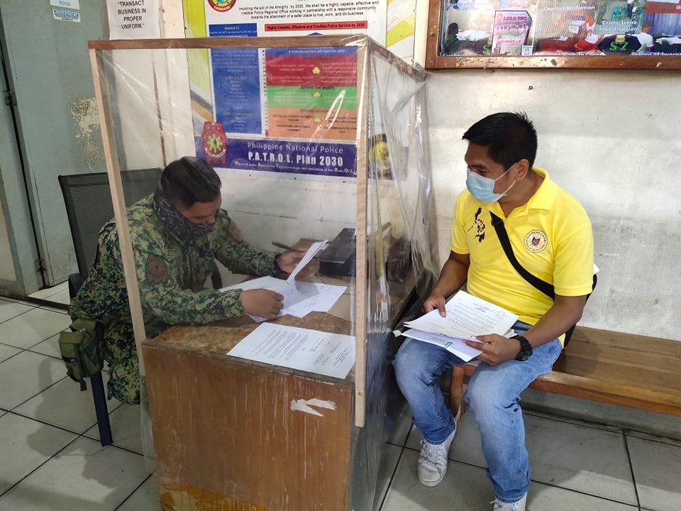 PSSg Reynaldo Delos Santos Jr entertained Mr. Ian Rowell Bersalona of MTC Bangued, Abra and coordinated regarding the issuance of warrant of arrest and subpoena to the personnel of Bangued MPS. #TeamPNP #PNPKakampiMo #ToServeandProtect