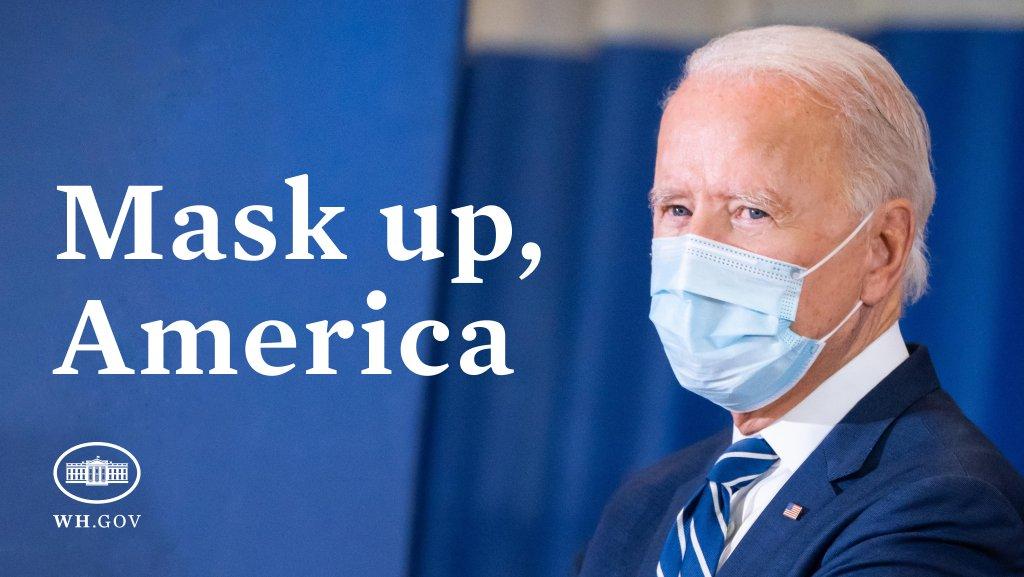 @CuomoPrimeTime @CNN @ChrisCuomo 🚨 #COVID19 #CORONAVIRUS in the 🇺🇸 U.S.  ➡️ PLEASE:  ✔️ Wear a Mask 😷 ✔️ Maintain Social Distancing ✔️ Wash your Hands ✔️ Avoid Large Gatherings ✔️ Get your #COVID19 #Vaccination  🇺🇸 @POTUS Joe Biden 🇺🇸 @FLOTUS Dr. Jill Biden 🇺🇸 @VP Kamala Harris 🇺🇸 @WhiteHouse  @CDCgov @HHSGov