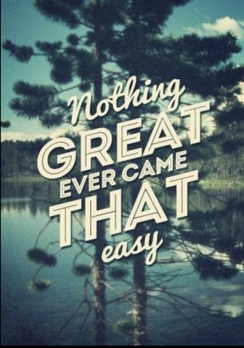 "☀️ Good Morning PE World! Daily Motivation: ""Nothing great ever came that easy."" #MotivationalQuotes #Motivation #tuesdaymotivations #tuesdayvibe #TuesdayFeeling #tuesday"