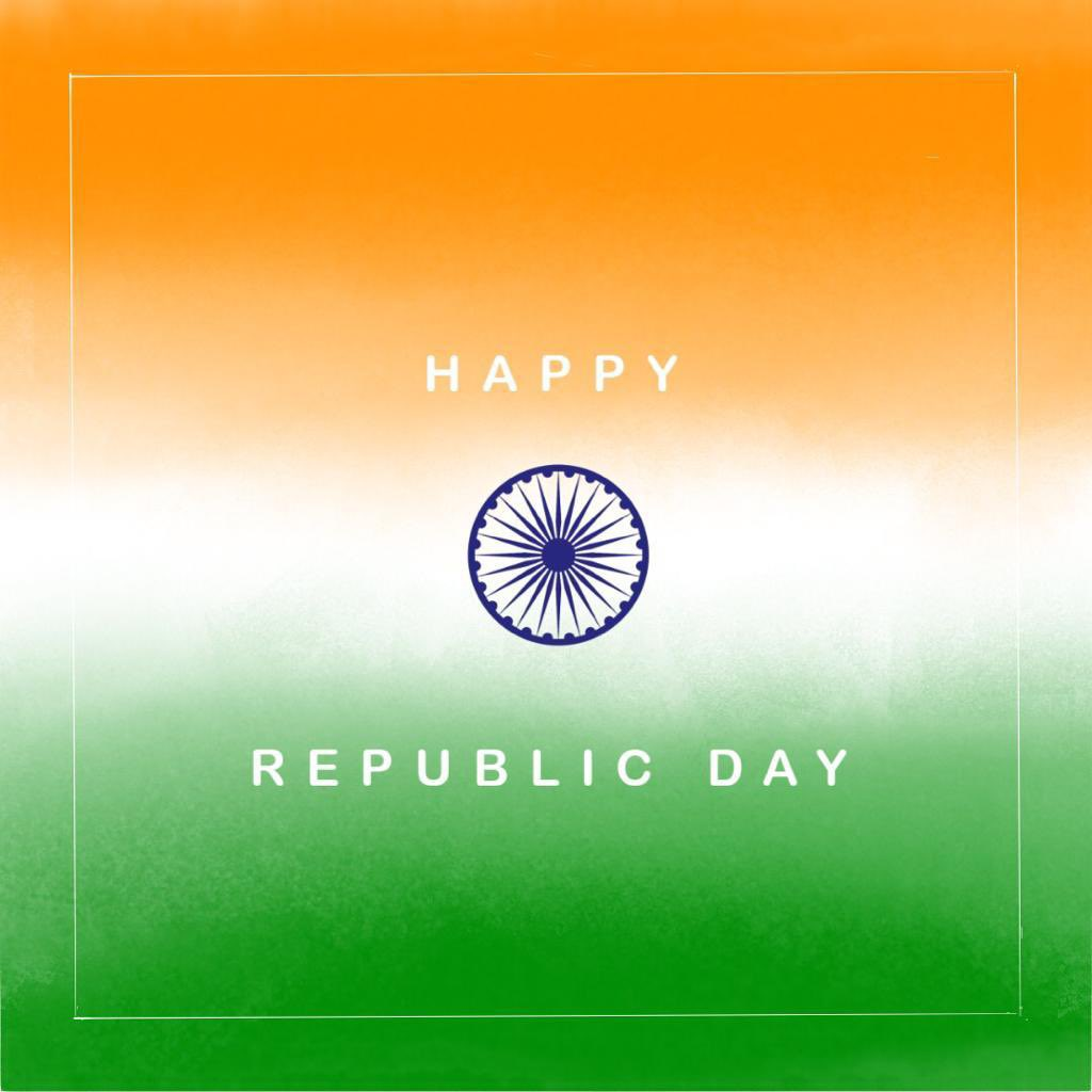 May our country continue its march towards progress and may the Indian Republic grow stronger as we move ahead.  Wishing everyone a very Happy Republic Day!  #RepublicDay