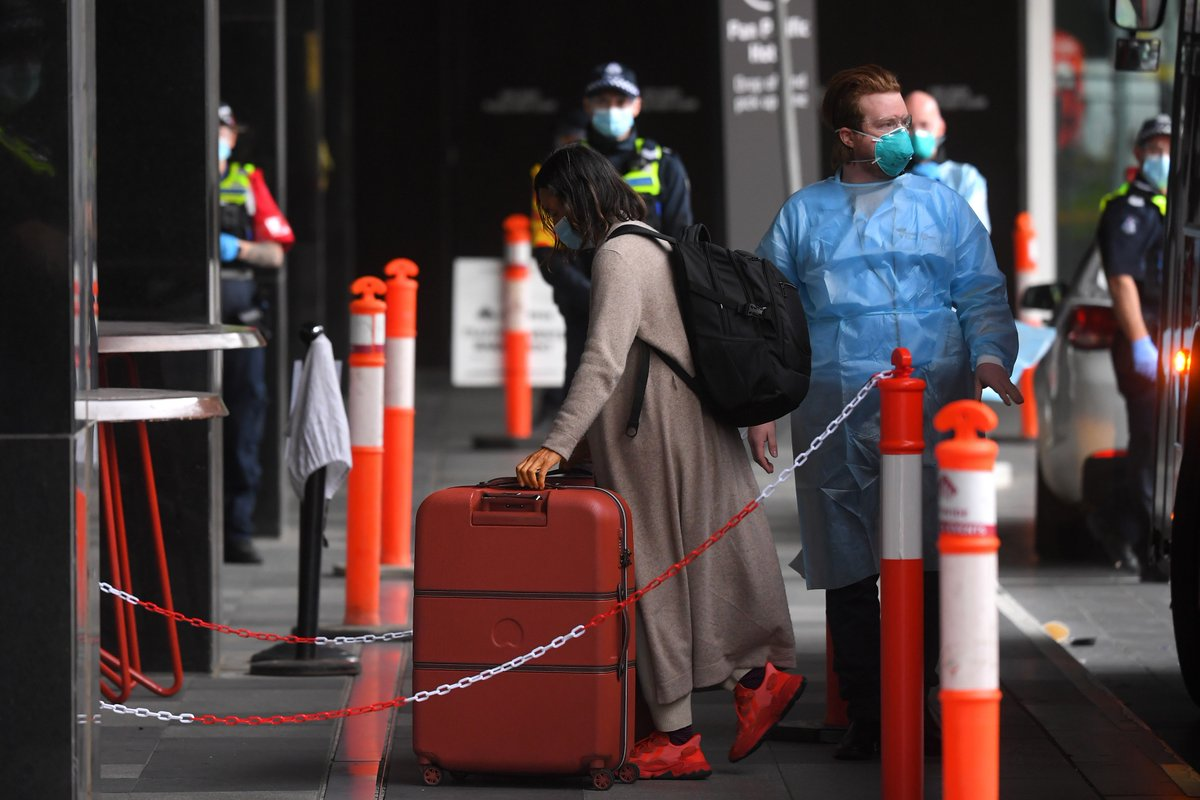 It's thought the government could announce plans to introduce mandatory hotel #quarantine for some travellers as soon as today.  Ministers will consider whether those arriving from some destinations should be forced to isolate because of fears about new #coronavirus variants.