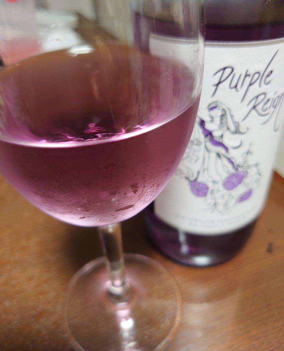 村上くんおたおめー! #紫ワイン キレーイ! #PurpleRain