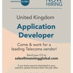 Image for the Tweet beginning: New #job in the #UK!