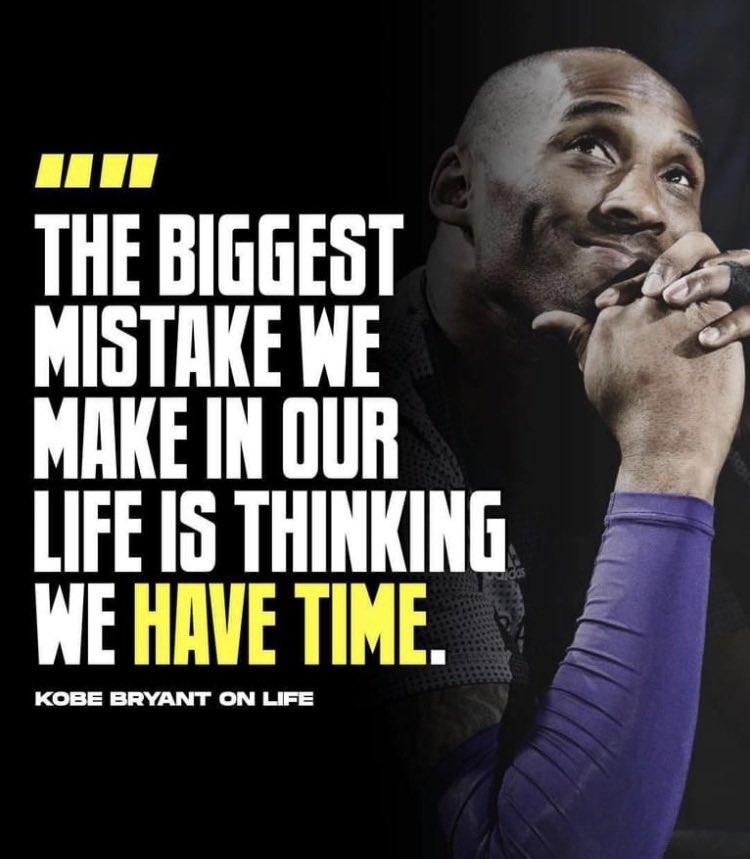 We lost Kobe one year ago today. #MambaForever