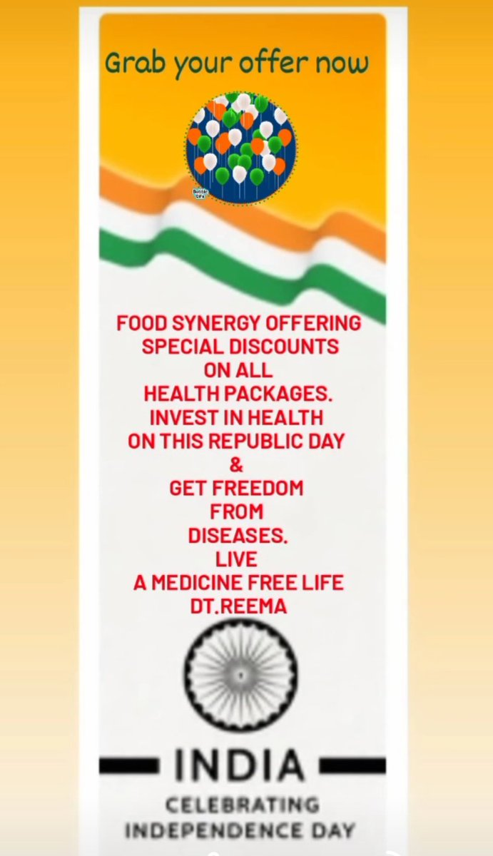 #IndependenceDay #healthy #FitnessMotivation #healthylifestyle #RepublicDay #RepublicDay2021 #RepublicDayIndia #discount #medicinefreelife #lifestyle