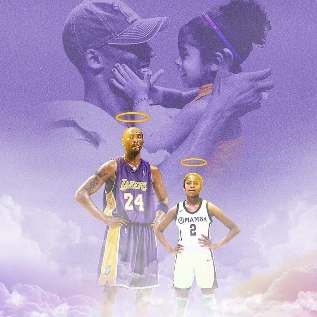 Wow I can't believe today is the 1 year of anniversary of Kobe & GiGi death. 😭😭💔💔💛💜#RIPKobe #RIPGiGi #MambaForever
