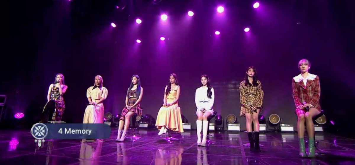 Wrapping up the showcase with 4 Memory 🌸  #Dreamcatcher #드림캐쳐 #Odd_Eye #오드아이