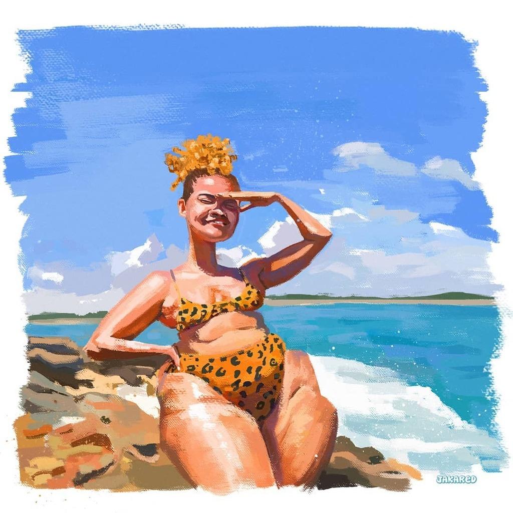 #sketchbook #draw #desenho #Blue #verão #ilustração #modelo #sketches #gordinha #chubby #gorda #caricatura #drawing #illustration #esboço #cartoon #cartooning #janeiro #plussize