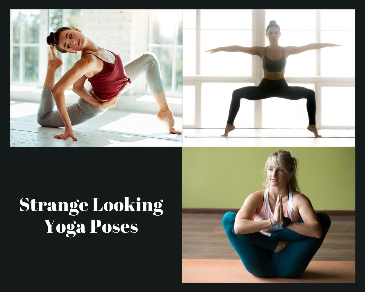 Strange Looking Yoga Poses  #yoga #yogaposes #selfcare #healthcare #healthy #fit #fitness #weightloss #lifestyle #homeMade #mindfulness #retweet #yog #yogagirl  👇👇😳