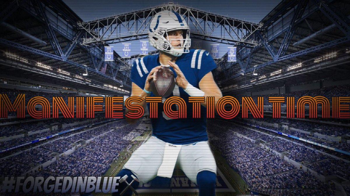 #ColtsNation   Make it happen.   #Stafford2Indy   #ForgedinBlue⚒️ #ForTheShoe #LEO