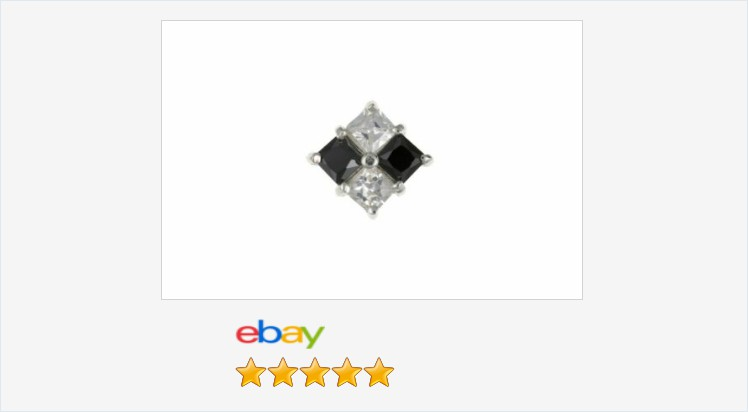 New Mens SINGLE 925 Sterling Silver Black and White CZ 6mm square #stud earring | eBay #sterlingsilver #black #white #cubiczirconia #single #stud #earring #mens #gents #jewellery #gifts #giftideas #giftsforhim #giftshop #menswear #mensfashion #jewelry https://t.co/pw9Zu5vHDK https://t.co/d5AwK6uNSN