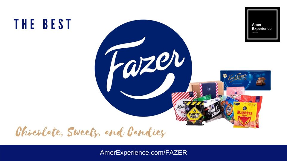 Fazer Chocolate Finland | Fazer Candies | – AMER EXPERIENCE -  - The Best Chocolate, Sweets, and Candies In The World – Buy Online USA and UK - Test it! My favorite is Soft Salmiakki with Fruit Candies #Finland #Sweets #Chocolate #Blue #Fazer #Candies