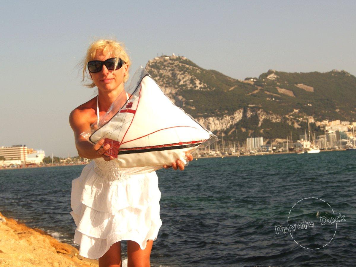 🌊❤️⚓️ Luxury Yacht Pillow ⚓️❤️🌊 #sailing #sailor #sealovers #ocean #travel #coast #seaside #beachlife #beach #VisitSpain  #Spain #España  #CostaBlanca #playa  #mediterranean  #mediterraneansea   #Mediterráneo #blue #azul  #privatedock