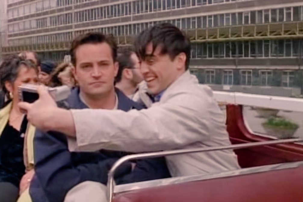 If I were Joey and @NickysHideout was Chandler #tuesdayvibe