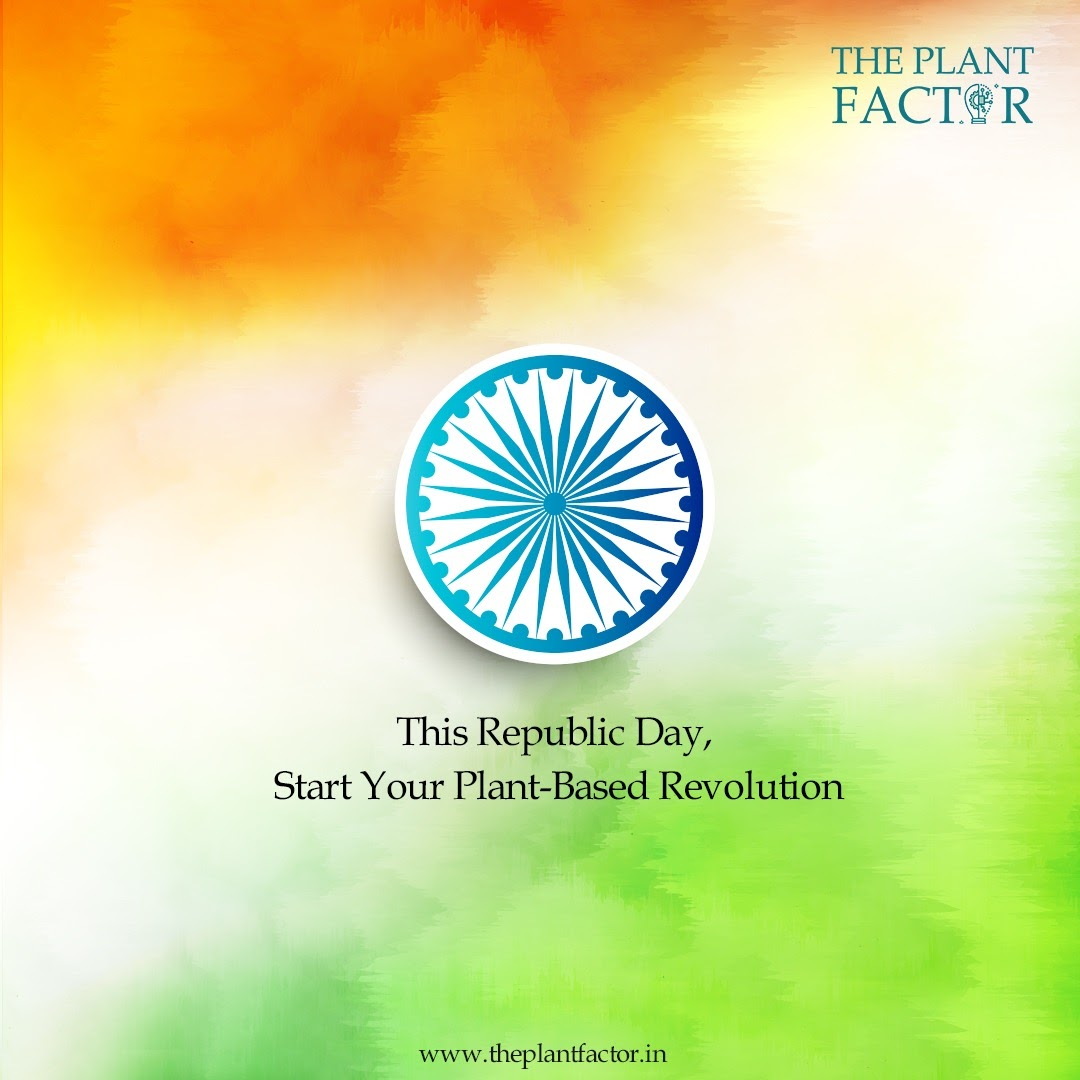 Replying to @theplantfactor: As Indians are slowly opening up to the idea of plant-based foods, Republic Day might be the perfect time to change your diets. #plantbasediets #plantbasedfoods #happyrepublicday #republicday2021 #republicdayindia #food #plantbased #h…