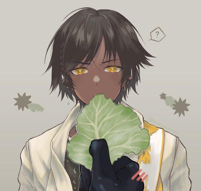 RT @Humi_yamanasi: ハァハァ ソーンズくんウニ…ウニモチーフってまじ?可愛ねぇ!!キャベツ食うか!?...