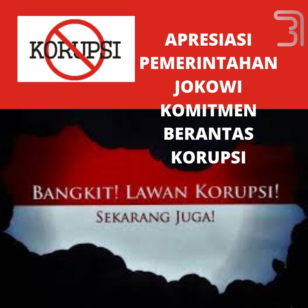 Presiden Jokowi mendukung penuh pemberantasan korupsi, tanpa pandang bulu. Korupsi merupakan musuh bersama, yang merugikan bangsa. Dukung komitmen pemerintah brantas korupsi.  #JokowiAntoKorupsi #PemberantasanKorupsi #Korupsi #KorupsiBansos #KPKKuat