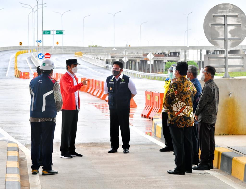 Jalan tol ruas Kayu Agung-Palembang di Sumatra Selatan sepanjang 42,5 km kini siap digunakan. Jalan tol ini adalah poros utama trans-Sumatra yang terhubung dengan ruas Terbanggi Besar-Kayu Agung yang telah rampung.   Provinsi Lampung pun semakin terkoneksi dengan Sumatra Selatan.