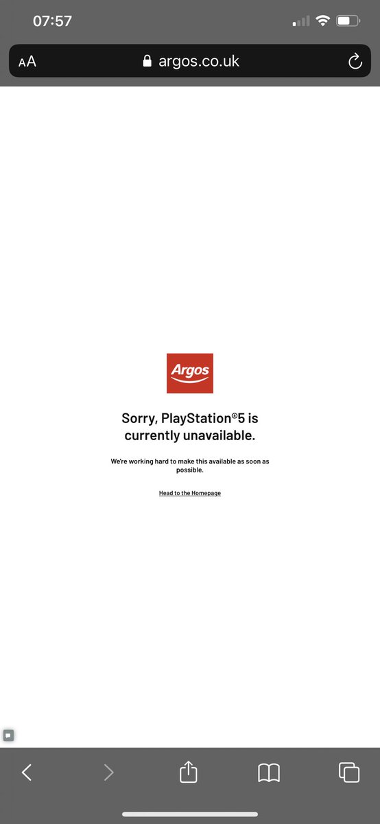 For anyone still clicking pay now and collect, I just got to this page been clicking for hours and stayed awake for no reason @Argos_Online @ArgosHelpers #ArgosPS5 #ps5uk #ps5restockuk @PS5UpdatesUK @Ps5Instant @PS5UKStock