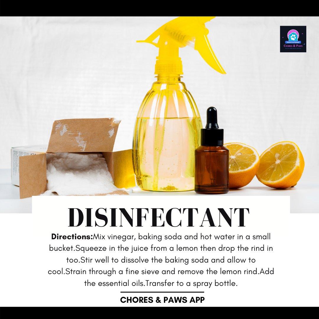#Tuesday #disinfectant #lemons