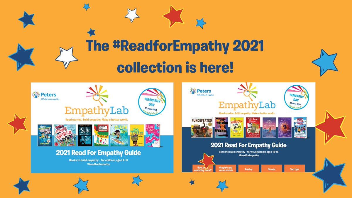 The #ReadForEmpathy collections for primary and secondary school children are here!
