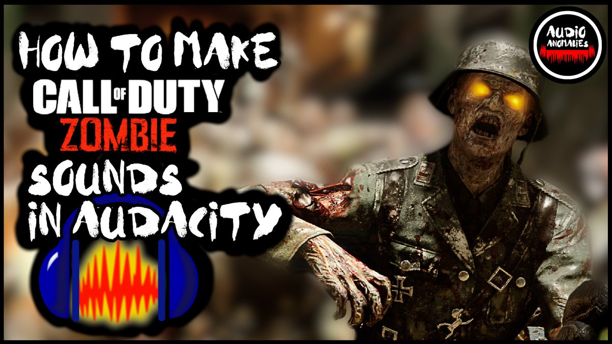 Check out Dom making a #CallOfDutyBlackOpsColdWar Zombie sound effect using completely free software  #Audacity #CallOfDuty #Zombies #SoundDesign #GameDev #GameDeveloper #Audio
