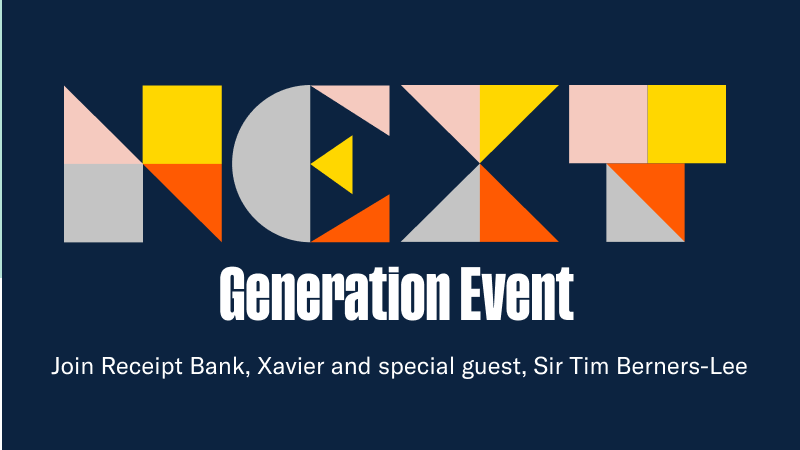 test Twitter Media - I've registered for @ReceiptBank's Next Generation event with Sir Tim Berners-Lee and other special guests. Get your free ticket here: https://t.co/x2Na8s7r1B https://t.co/VnGgykY8Lx
