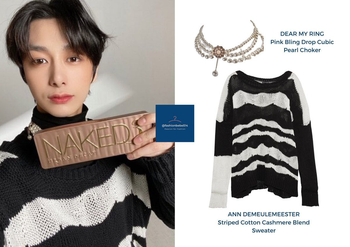 🐢 210123 @OfficialMonstaX Twitter / Beauty+ Magazine February 2021 Issue  ⭐️ Ann Demeulemeester Sweater + Dear My Ring Choker   With amazing pics like this, we sometimes wonder if Hyungwon is really human.  #Hyungwon_Fashionbebe #형원 #MONSTA_X #MONSTAX