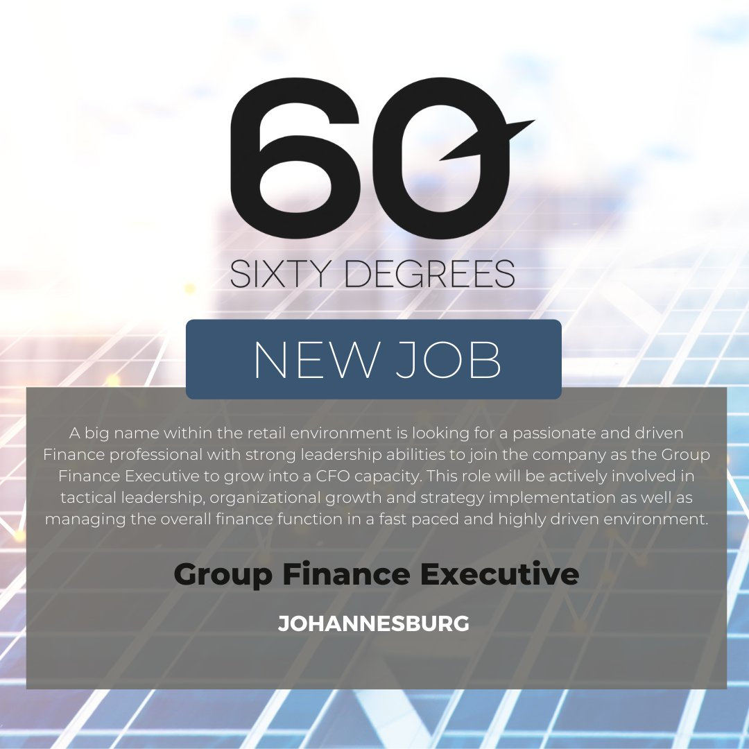 test Twitter Media - New #JobAlert - Group Finance Executive in Johannesburg  For more information & to apply, please click on the link below;  https://t.co/CYD8dhH5wS  #groupfinance #nowhiring #financeexecutive https://t.co/xXBzz0fFJ0