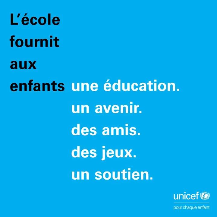 La #COVID19 a mis en évidence de profondes inégalités dans l'#éducation et a exacerbé la crise mondiale de l'apprentissage.   Joignez-vous à nous pour défendre le droit à une éducation de qualité, équitable et inclusive #PourChaqueEnfant. 👉