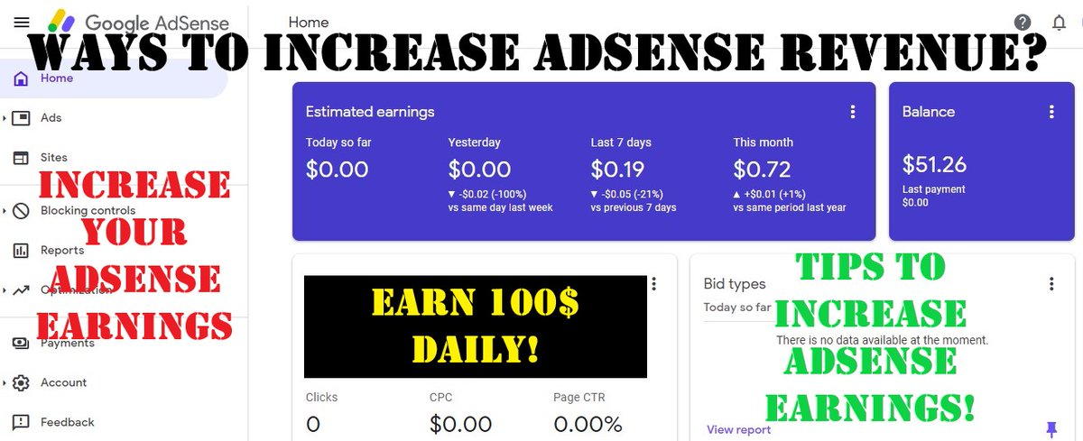 How To Increase Google Adsense Earnings?  #RepublicDay #दिल्ली_पुलिस_लठ_बजाओ #KisanTractorRally #HistoricTractorMarch #BBB21 #TheBachelor #WWERaw #AnimalCrossingxColourPop #COYS #bootwtselfieday #TokopediaxBTS #WIBJANUARI #MewGulf2Years2gether #HBDtoIM