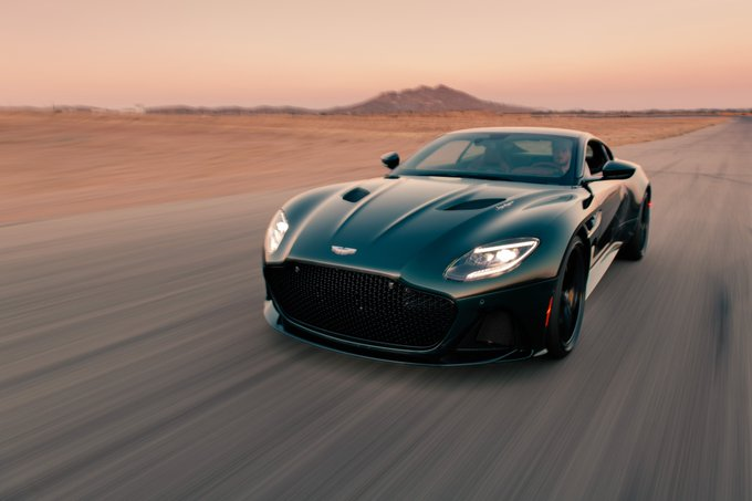 DBS Superleggera is a work…