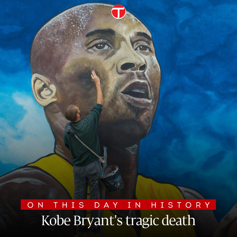 Basketball fans all across the world mark the first anniversary of the death of NBA legend Kobe Bryant, who, along with his 13-year-old daughter Gianna and seven others, died in a helicopter crash on 26th January, 2020.  #etribune #KobeBryant #MambaForever