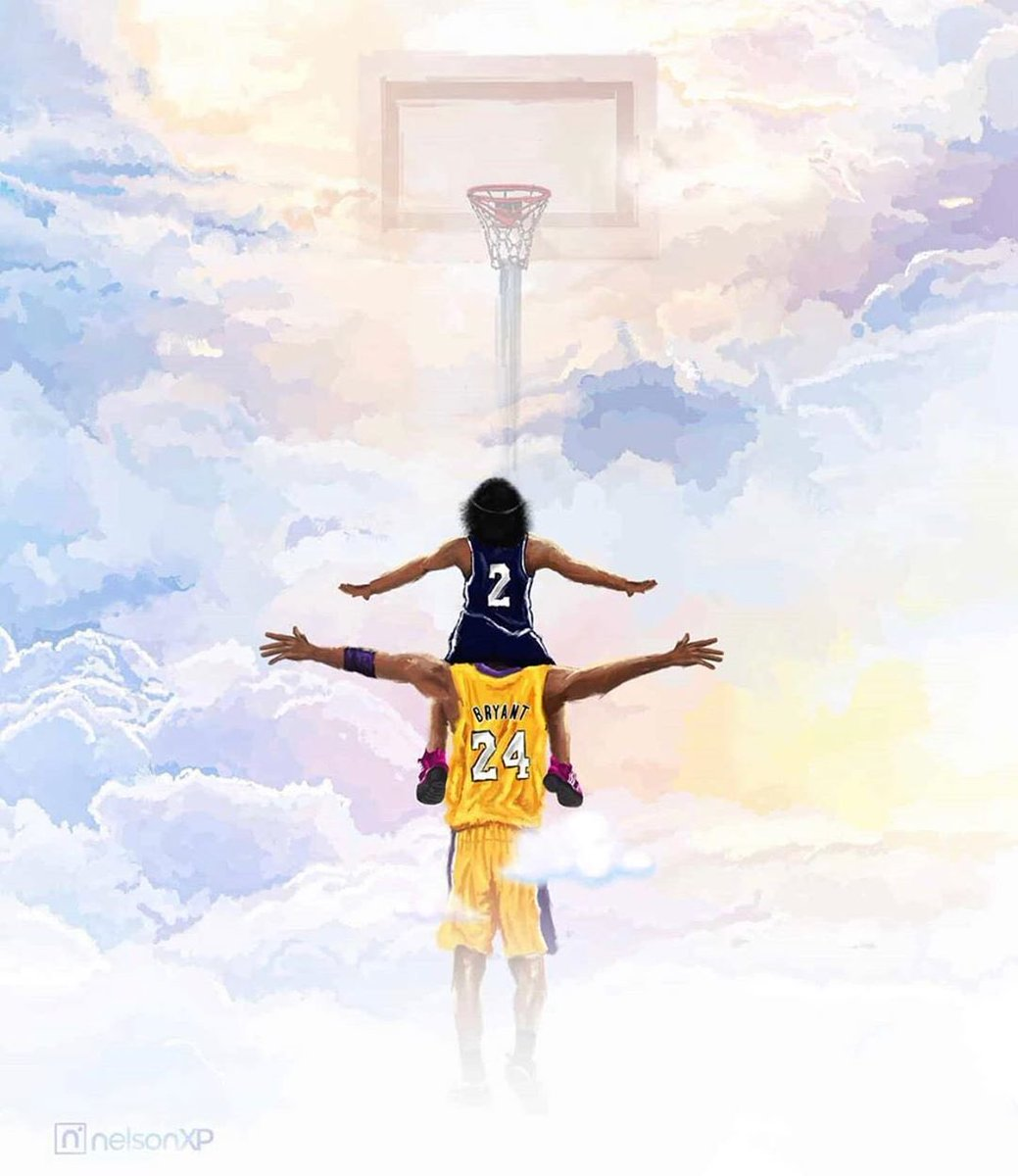 A year ago today the NBA world and the world in general lost a icon, not only from sport but in the world itself. If that wasn't enough it took one of his sweet and talented girls also, they maybe gone but they'll never be forgotten #MambaForever
