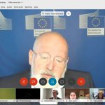 Image for the Tweet beginning: Commission vice-president @TimmermansEU underlines that