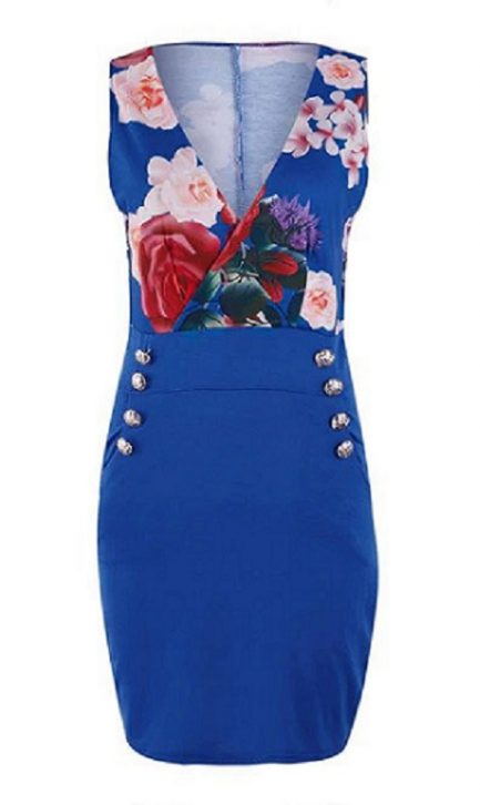 Shop Sexy V Neck Sleeveless Pocket Elegant Slim Party Dress @powerdaysale    #minidress #PartyDress #Elegantstyle #Sexywear #OfficeLady #officewear #workwear #Vintagelooks #likeforlike #followme