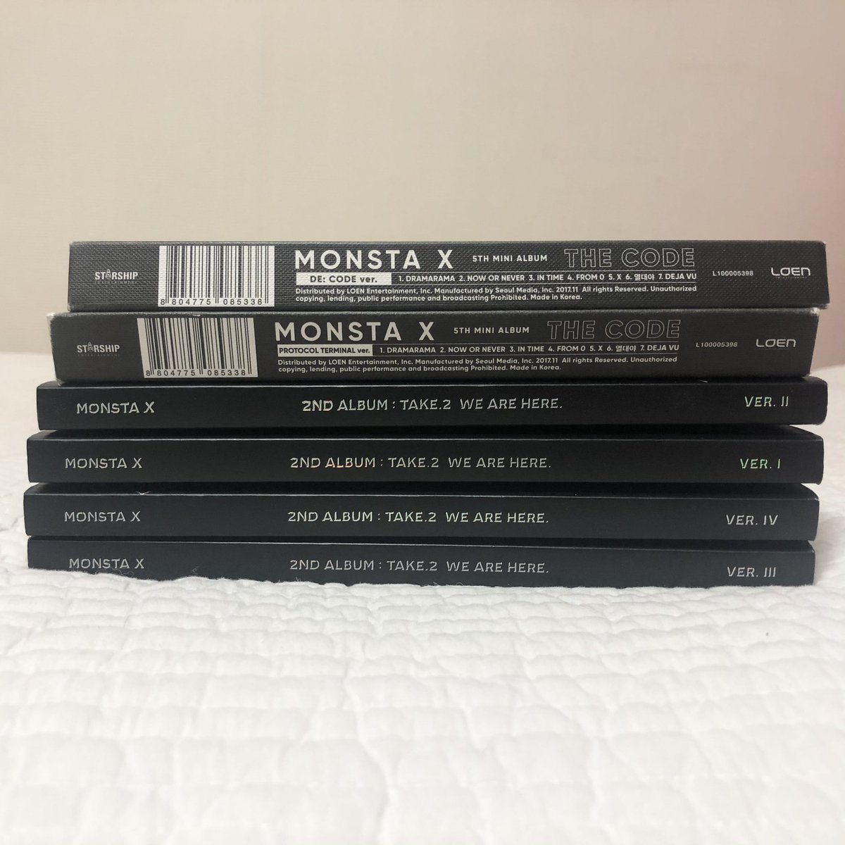 Im selling monsta x's album  dont dm me if your just gonna ask bunch of questions and not buy anything from me. otherwise feel free to dm me☺️  #몬스타엑스 #monstax #im #jooheon #minhyuk #hyungwon #shownu #kihyun #monbebe #셔누 #손현우 #민혁 #기현 #형원 #주헌 #아이엠 #임창균