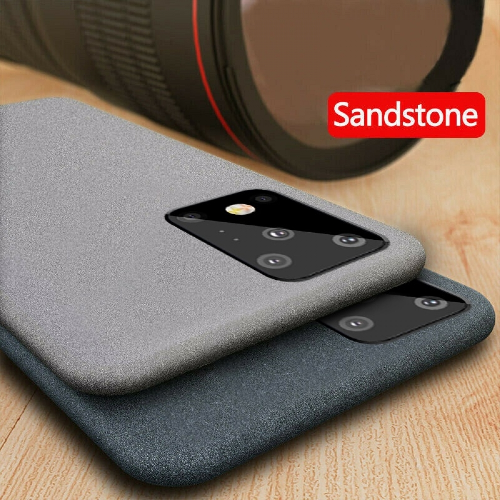 YISHANGOU Luxury Sandstone Matte Soft Phone Case For Samsung Note 10 9 8 S20 S10e S9 Plus S8 A50 A70 A40 A10 A20E A750 A51 A71  ________________________  #follow4follow #art