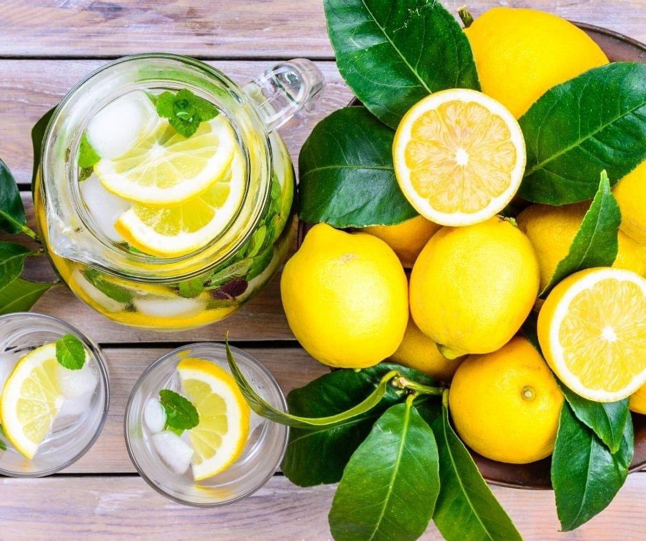 Known for adding flavour, freshness, and acidity to drinks and foods, lemons are the most commonly used citrus fruits.  #DidYouKnow Lemons are a good source of vitamin C? One lemon provides about 31 mg of vitamin C, which is 51% of the reference daily intake. #Lemons🍋🍋🍋