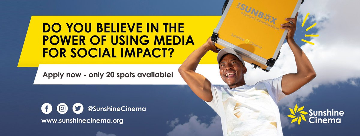 Apply to be 1 of 20 Sunbox Ambassadors in South Africa today!