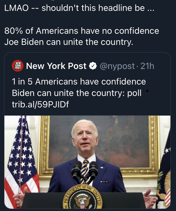 Day number 6 26th Jan 2021 Joe Biden is the most corrupt fake president in history. #BidenCorruption
