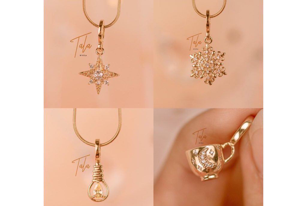 [ GCASH GIVEAWAY ] • worth 1 necklace from tala by kyla's exo collection.   ❣️ 3 winners ❣️mbf, like and rt ❣️tag friends ❣️ends in 30 mins
